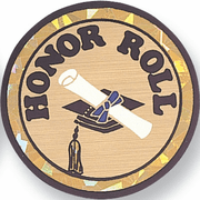 Honor Roll Mylar Decal Insert - Click to enlarge