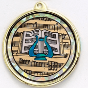 Mylar Music Medals - Click to enlarge