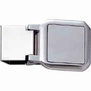 Nickel Plated Money Clip - Click to enlarge