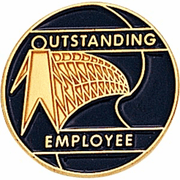 Outstanding Employee Lapel Pins - Click to enlarge