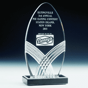 Oval Acrylic Trophy - Click to enlarge