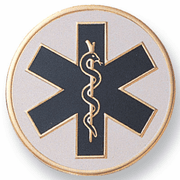 Paramedic Litho Medal Insert - Click to enlarge