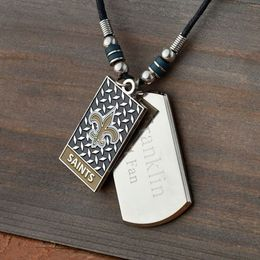 NFL Dogtag Necklace - Click to enlarge