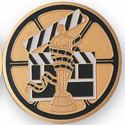 Performing Arts, Drama & Movies Medal Insert (Etched) - Click to enlarge
