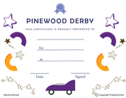 Pinewood Derby - Click to enlarge