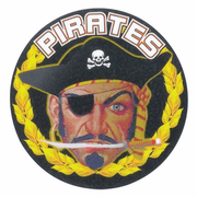 Pirates Medal Mascot Medal Insert - Click to enlarge