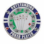 Poker Lapel Pin (BR Series) - Click to enlarge