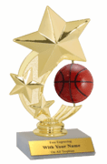 Spinner Participation Trophies - Basketball - Click to enlarge