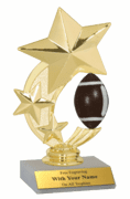 Spinner Participation Trophies - Football - Click to enlarge