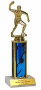 Single Column Trophy - Table Tennis / Ping Pong - Click to enlarge