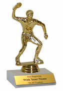Participation Trophies with Marble Platform - Table Tennis / Ping Pong - Click to enlarge