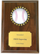 Baseball Holographic Plaque - Click to enlarge