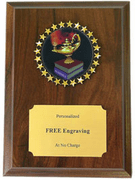 Academic Plaque - Click to enlarge
