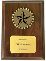 Academic Star Holographic Decal Plaque