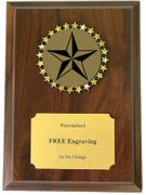 Academic Star Holographic Decal Plaque - Click to enlarge