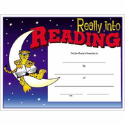 Reading Certificates - Click to enlarge