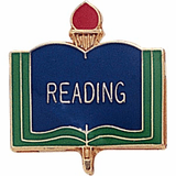 Reading Lapel Pins - Click to enlarge
