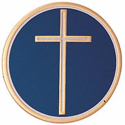 Religious Cross (493581) Litho Medal Insert - Click to enlarge