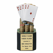 Resin Poker Trophies - Click to enlarge