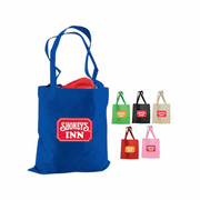 Reusable Non-Woven Supermarket Tote with Custom Imprint - Click to enlarge