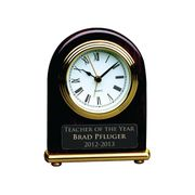 Rosewood Desk Clock - Click to enlarge