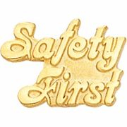 Safety First Pin - Click to enlarge