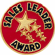 Sales Leader Award Lapel Pin (BR Series) - Click to enlarge