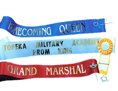 Custom Pageant Sashes (Child Sizes) - Click to enlarge