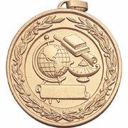 Scholastic Subject Medal with Front Imprint - Click to enlarge