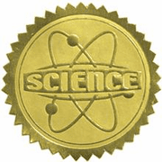 Science Certificate Seals - Click to enlarge