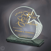 Sculpted Star Award - Click to enlarge