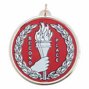Second Place Torch Medals - Click to enlarge