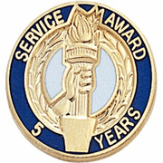 Years of Service Pins - Click to enlarge