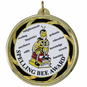 Spelling Bee Medals - Click to enlarge