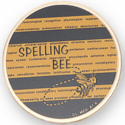 Spelling Bee Litho Insert - Click to enlarge