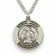 St. Anne Patron of Women in Labor - Click to enlarge