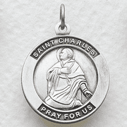 St. Charles, Patron Of Clergy - Click to enlarge