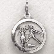 St. Christopher Cheerleading Medal - Click to enlarge