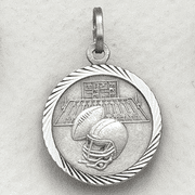 St. Christopher Football Medal - Click to enlarge