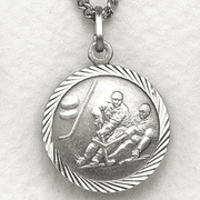 St. Christopher Ice Hockey Medal - Click to enlarge