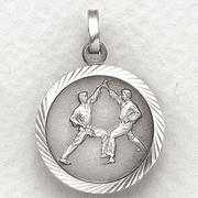St. Christopher Karate Medal - Click to enlarge