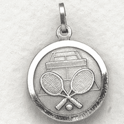 St. Christopher Tennis Medal - Click to enlarge