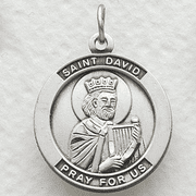St. David, Patron Of Poets - Click to enlarge
