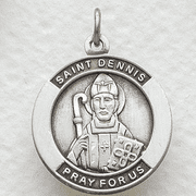 St. Dennis , Patron Of Headaches - Click to enlarge