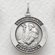 St. Dominic, Patron Of Astronomers - Click to enlarge