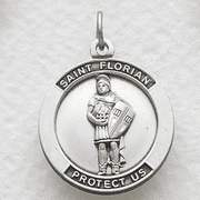 St. Florian, Patron Of Firefighters - Click to enlarge
