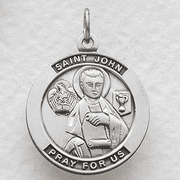 St. John , Patron Of Publishers - Click to enlarge