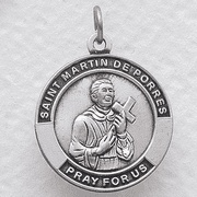 St. Martin de Porres , Patron Of African Americans - Click to enlarge