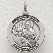 St. Matthew , Patron Of Accountants and Bankers - Click to enlarge