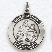 St. Raphael , Patron Of Blindness - Click to enlarge